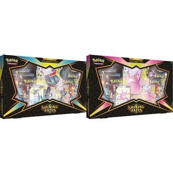 Pokemon Shining Fates Premium Box - Set of 2