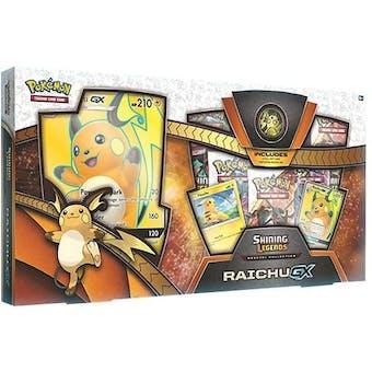 Pokemon Shining Legends Raichu GX Collection Box