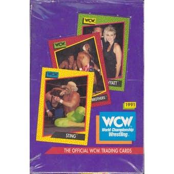 1991 Impel WCW Wrestling Box