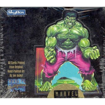 Marvel Masterpieces Hobby Box (Joe Jusko) (1992 Skybox) (Reed Buy)