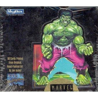 Marvel Masterpieces Hobby Box (Joe Jusko) (1992 Skybox)