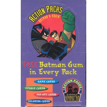 Batman and Robin Action Packs Hobby Box (1996 Skybox)