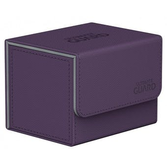 Ultimate Guard Sidewinder 100+ Xenoskin Deck Box - Purple