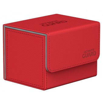 Ultimate Guard Sidewinder 100+ Xenoskin Deck Box - Red