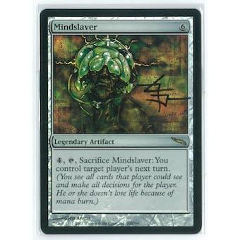Magic the Gathering Mirrodin Single Mindslaver FOIL NEAR MINT (NM) Artist Signed!