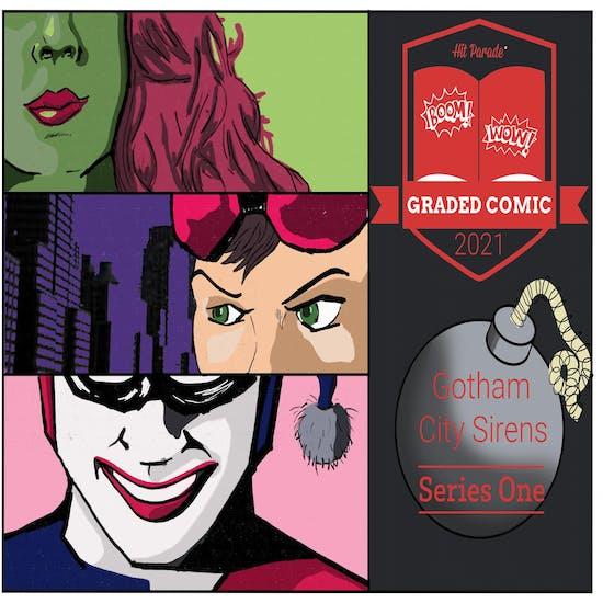 2021 Hit Parade Gotham City Sirens Graded Comic Edition Hobby Box - Series 1 - 1st Harley Quinn & Poisn Ivy!