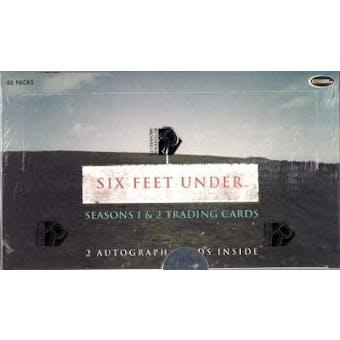 Six Feet Under Season 1 & 2 Box (Rittenhouse 2004)