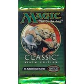 Magic the Gathering 6th Edition Booster Pack (Reed Buy)