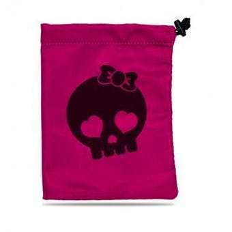 CLOSEOUT - ULTRA PRO TREASURE NEST - SKULL GIRL DICE BAG
