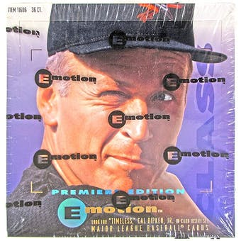 1995 Skybox Emotion Baseball Hobby Box