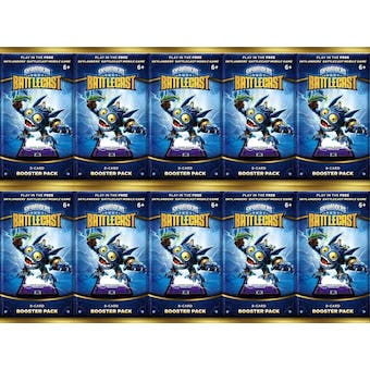 Skylanders Battlecast Booster Pack Lot of 10