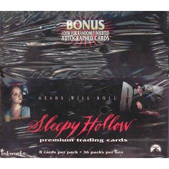 Sleepy Hollow Hobby Box (1999 Inkworks)
