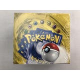 Pokemon Base Set 1 SHADOWLESS Booster Box (GREEN WING 1 COUNTRY CLEAR WRAP)