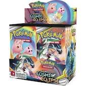 Pokemon Sun & Moon: Cosmic Eclipse Booster 6-Box Case (Presell)