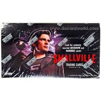 Smallville Seasons 7-10 Trading Cards Box (Cryptozoic 2012)