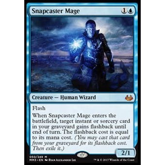 Magic the Gathering Modern Masters 2017 Single Snapcaster Mage - NEAR MINT (NM) Sick Deal Pricing