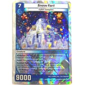 Kaijudo Promotional Single Snow Fort - HOLIDAY FOIL