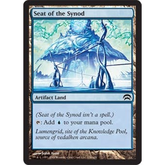 Magic the Gathering Mirrodin Single Seat of the Synod FOIL - NEAR MINT (NM)