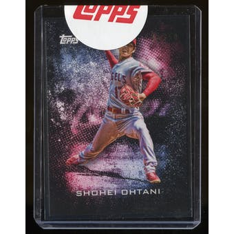 2019 Topps Transcendent VIP Party Shohei Ohtani BUNT#46/50 Exclusive Unused