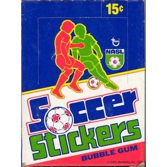 1979 Topps NASL Soccer Stickers Wax Box
