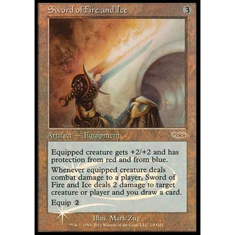 Magic the Gathering Promo Single Sword of Fire And Ice JUDGE FOIL - NEAR MINT (NM)
