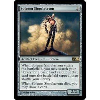 Magic the Gathering 2012 Single Solemn Simulacrum Foil