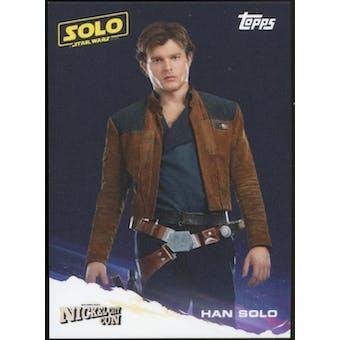 Star Wars Nickel City Con Exclusive P1 - Han Solo (Topps 2018)