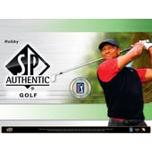 2021 Upper Deck SP Authentic Golf Hobby Box (Presell)