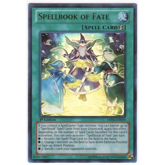 Yu-Gi-Oh Abyss Rising Single Spellbook of Fate Ultimate Rare