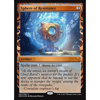 Magic the Gathering Kaladesh Inventions Single Sphere of Resistance FOIL - NEAR MINT (NM)