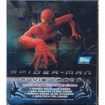 Spiderman Movie Hobby Box (2002 Topps)