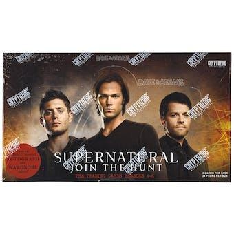 Supernatural Seasons 4-6 Trading Cards Box (Cryptozoic 2015)