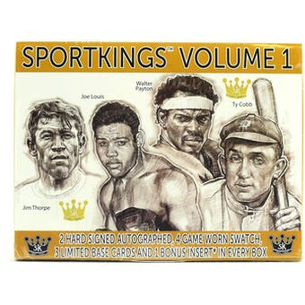 2018 Sportkings Volume 1 Hobby Box