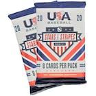 Image for  2x 2020 Panini Stars & Stripes Baseball Hobby Pack