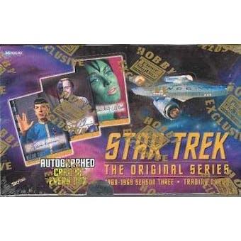 Star Trek: The Original Series Season 3 Hobby Box (1999 Skybox)