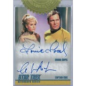 2018 Rittenhouse Star Trek TOS The Captain's Collection Shatner/Kapec Dual Autograph