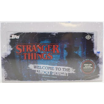 Stranger Things Welcome to the Upside Down Hobby Box (Topps 2019)
