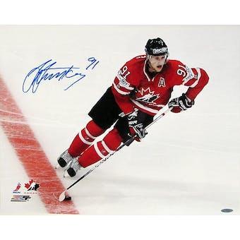 Steven Stamkos Autographed Team Canada 16x20 Hockey Photo (UDA)