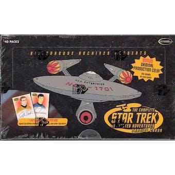 Star Trek Animated Adventures Trading Cards Box (Rittenhouse)