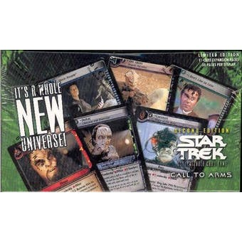 Decipher Star Trek Call to Arms Booster Box