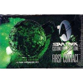 Decipher Star Trek First Contact Booster Box