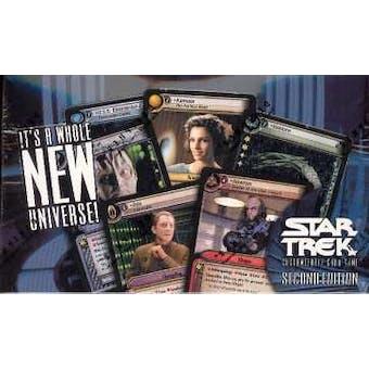 Decipher Star Trek Second Edition Booster Box