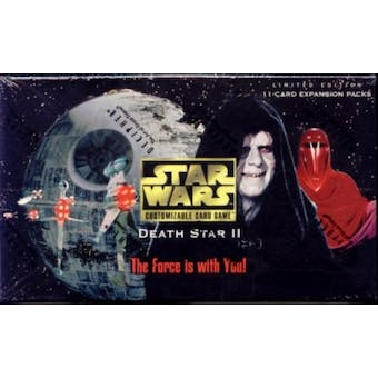Decipher Star Wars Death Star 2 Limited Booster Box