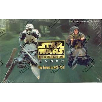 Decipher Star Wars Endor Limited Booster Box