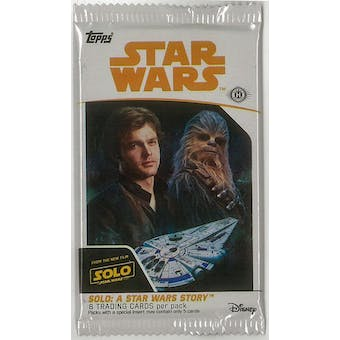 Solo: A Star Wars Story Hobby Pack (Topps 2018)