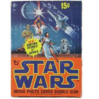 Star Wars 5th Series Wax Box (1977-78 Topps)