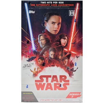 Star Wars The Last Jedi Series 2 Hobby Box (Topps 2018)
