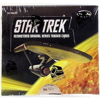 Star Trek Remastered Original Series Trading Cards Box (Rittenhouse 2011)