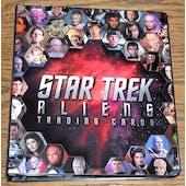 Star Trek Aliens Trading Cards Album/Binder