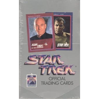 Star Trek 25th Anniversary Hobby Box (1991 Impel)